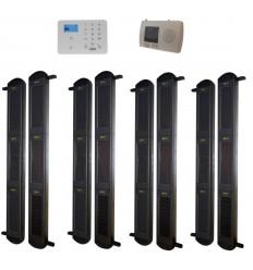 3B-100 SOLAR DRAHTLOSER LICHTSCHRANKEN ALARM & KP9 2G GSM SYSTEM