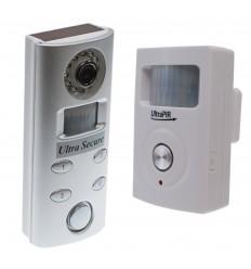 UltraPIR 3G GSM Alarm & Silber Videokamera (batteriebetrieben)