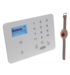 KP9 2G oder 3G GSM Kontrollpanel 1 x Notfallarmband