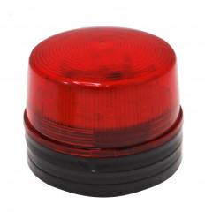 Rot blinkendes Blitzlicht