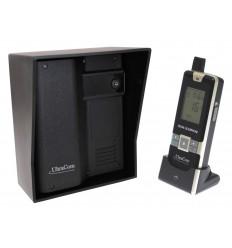 600-m-Funk-Gegensprechanlage Ultracom mit schwarzem Außengehäuse (ohne Tastatur)