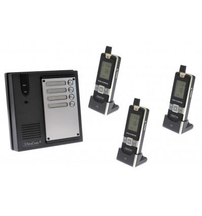 3 Mietparteien Funk-Gegensprechanlage Ultracom4