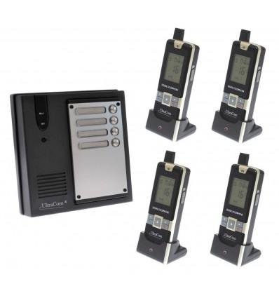 4 Mietparteien Funk-Gegensprechanlage Ultracom4