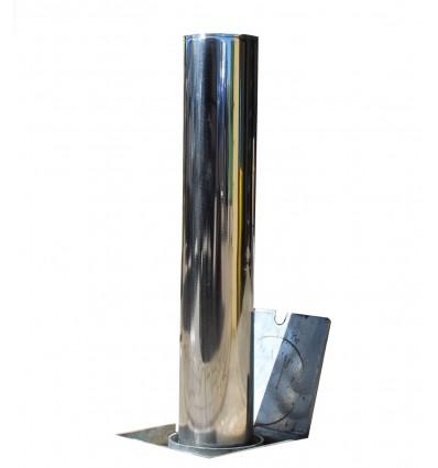 Rostfreier Stahl TP-200 versenkbarer Sicherheits- und Parkpfosten