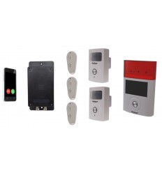 UltraDIAL 3G GSM Alarm mit 2 X BT PIR'S & Solar Sirene