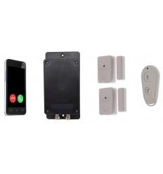 UltraDIAL 3G GSM Alarmgerät mit 2x Tür/Fenster Alarm & Fernbedienung