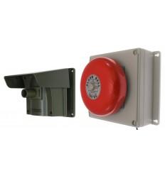 Protect 800 mit Aussenklingelempfänger und PIR (mit mehreren Deckeln)