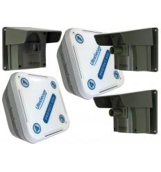 Protect 800 mit 2 x Empfänger und 3 x PIR's mit Kappe