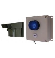 Protect 800 MIT aussen EINSTELLBARER SIREN- UND BLINK-LED-EMPFÄNGER