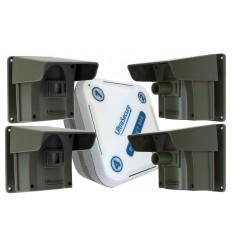 Protect 800  Alarmsystem mit 4 x PIR's
