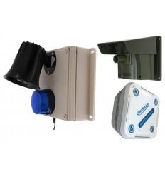 PROTECT 800 MIT PIR (MEHREREN DECKELN) & AUSSENSIRENE UND BLITZ & Innen Empfänger
