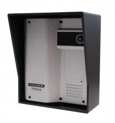 ULTRACOM 2 - 600 m Funk-Gegensprechanlage mit schwarzem Außengehäuse (ohne Tastatur)