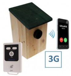 UltraPIR 3G GSM Alarmgerät im Vogelhäuschen für Außeneinsatz