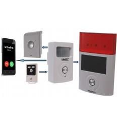 UltraPIR 3G GSM Alarm mit externer und interner Sirene