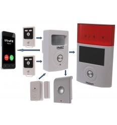 UltraPIR 3G GSM Alarmgerät Delux Kit
