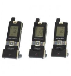 3-Wege Handgerät zu Handgerät Funk-Gegensprechanlage mit 600 Metern Reichweite
