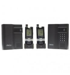 Funk-Gegensprechanlage UltraCom mit 2 Türstationen, 2 Handgeräten