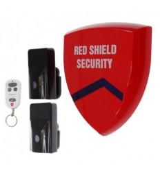 Funksirene Smart Alarm & 2 x Aussen PIR's