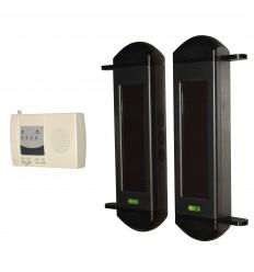 1B drahtloses solarbetriebenes Lichtschrankensystem