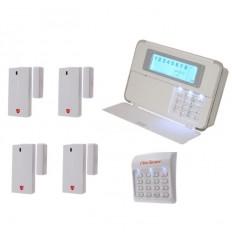 Magnetkontakt innen & Funk-Wählgerät Smart Alarm