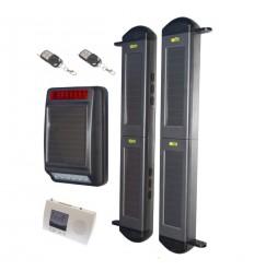2B Lichtschranken Kit Mit Solarsirene und Empfänger